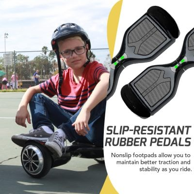 Swagtron T1 Pro hoverboard 4