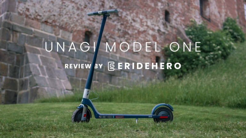 unagi model one e500 review by eridehero