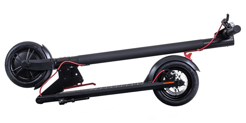 Gotrax GXL Commuter Scooter Folded