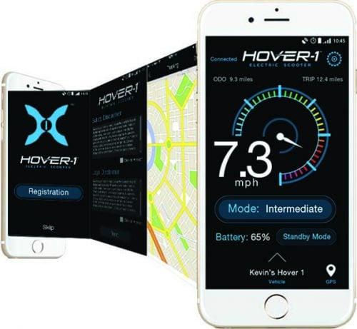 hover-1 titan smartphone app