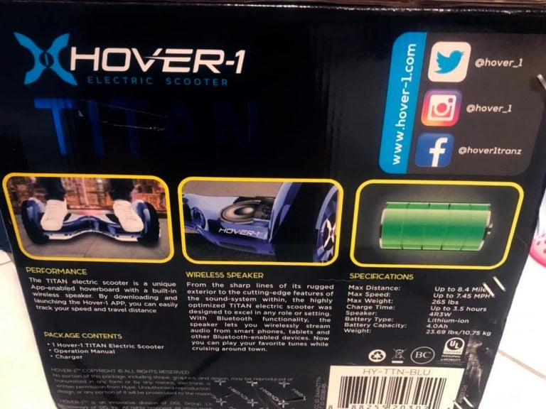 Hover-1 Titan Unboxing