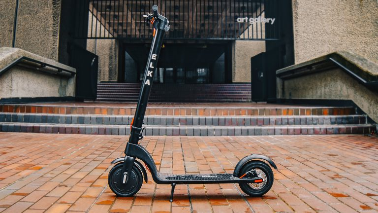 Elka Model-T scooter