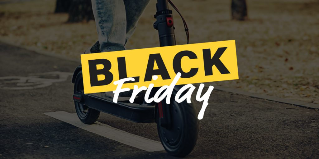 Electric Scooter Black Friday & Cyber Monday Deals 2020
