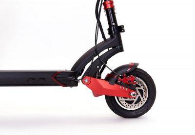 Falcon PEV Zero 10X electric scooter wheel suspension