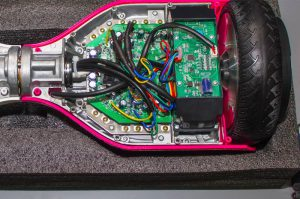 hoverboard construction and wiring