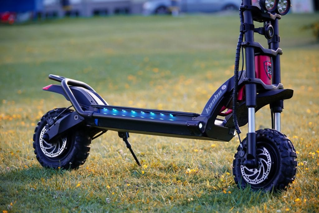Kaabo Mantis Wolf Warrior off road electric scooter