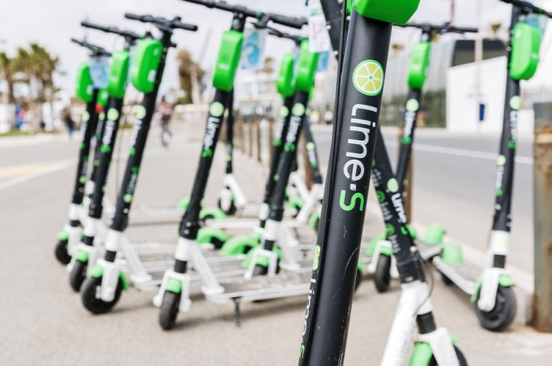 Lime S E-Scooters in Valencia