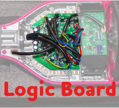 Main logic board in a hoverboard