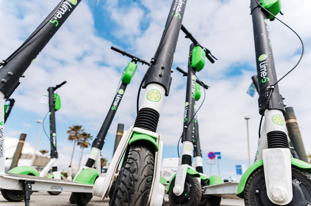 Lime-S e-scooter rental