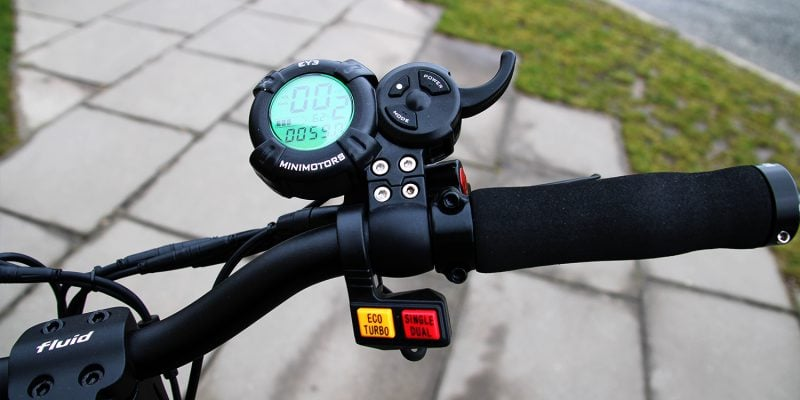 kaabo mantis handlebar display