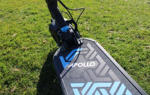 Apollo Explore wide-deck e-scooter