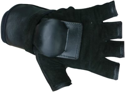 Hillbilly Wrist Guard Gloves - Half Finger