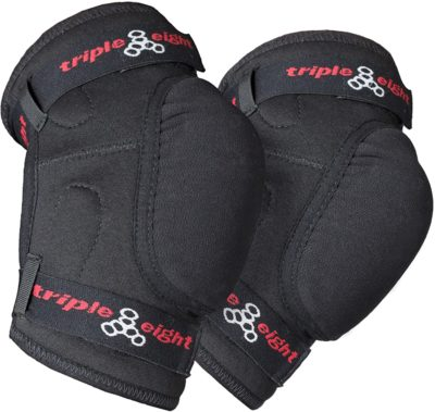 Triple Eight Stealth Hardcap Multi-Sport Elbow Pads with Kevlar