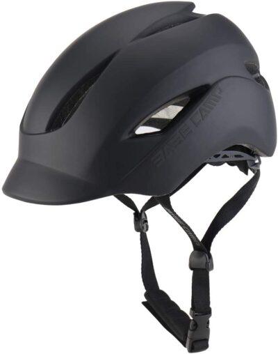 BASE CAMP Adult Bike Helmet with Rear Light for Urban Commuter