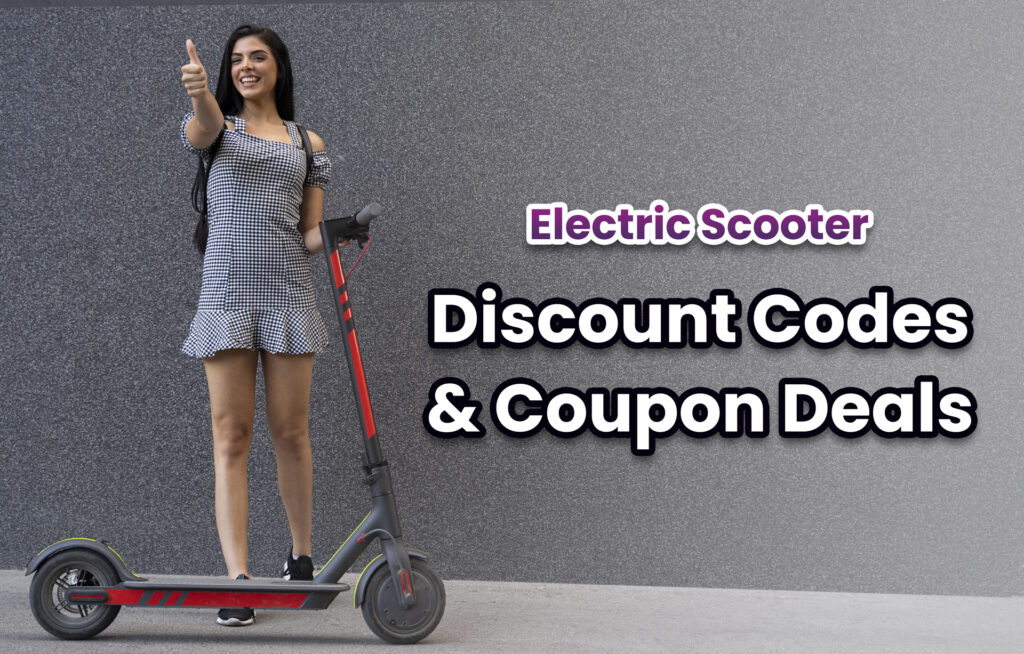 Electric scooter discounts and coupon codes featured image