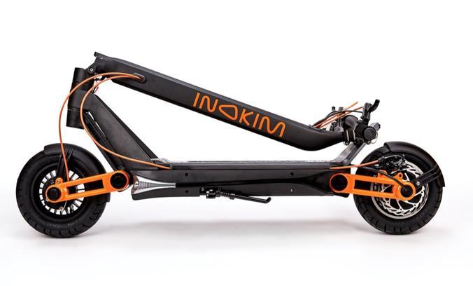 InokimOX electric scooter folded