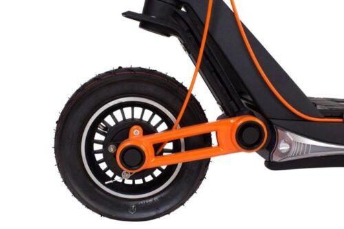 InokimOX electric scooter suspension front
