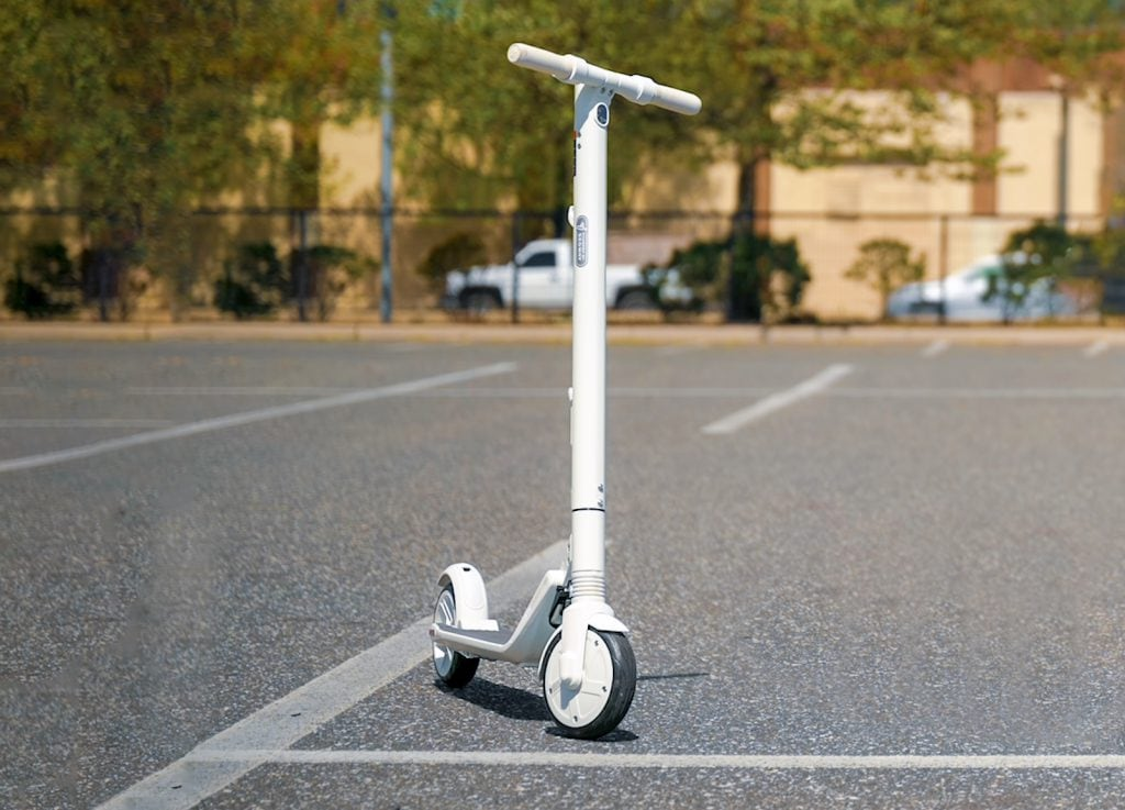 Segway Ninebot ES2 electric scooter in white