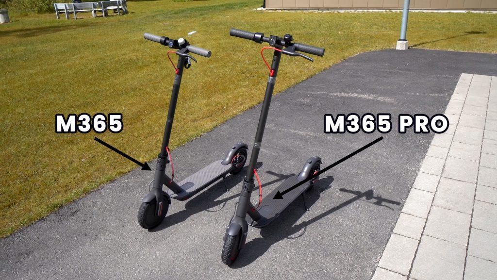 Xiaomi Mi M365 vs Xiaomi M365 Pro