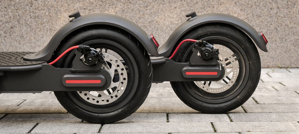 A look at a few electric scooter tires