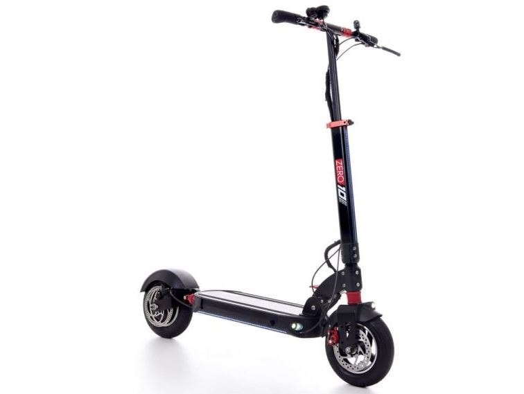 Zero 10 electric scooter front side