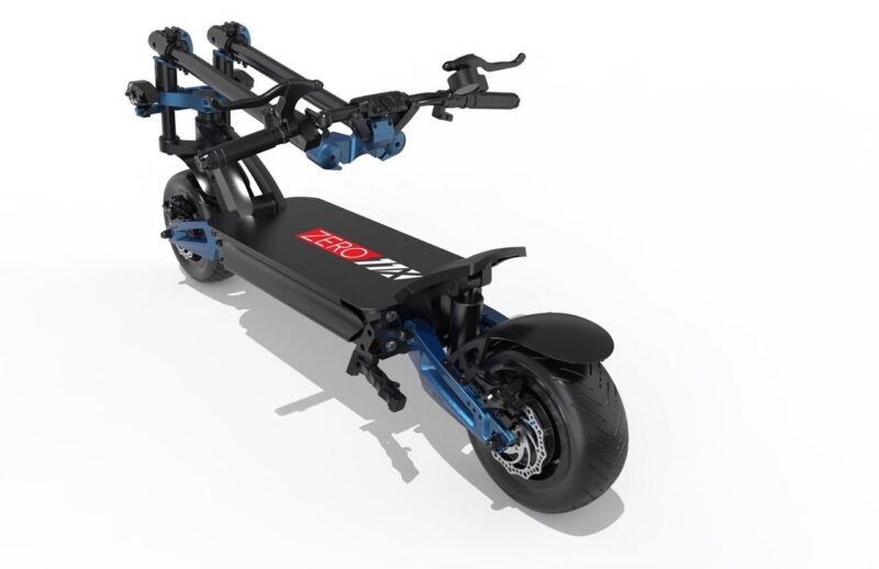 Zero 11x electric scooter folded