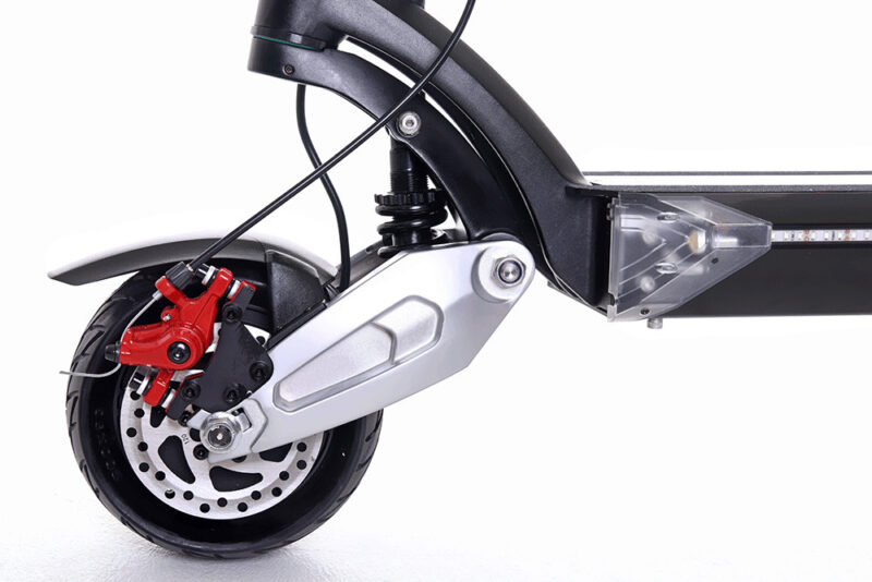 Zero 8X Electric Scooter Front