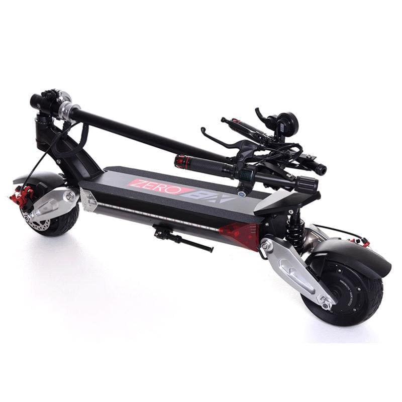 Zero 8X electric scooter folded