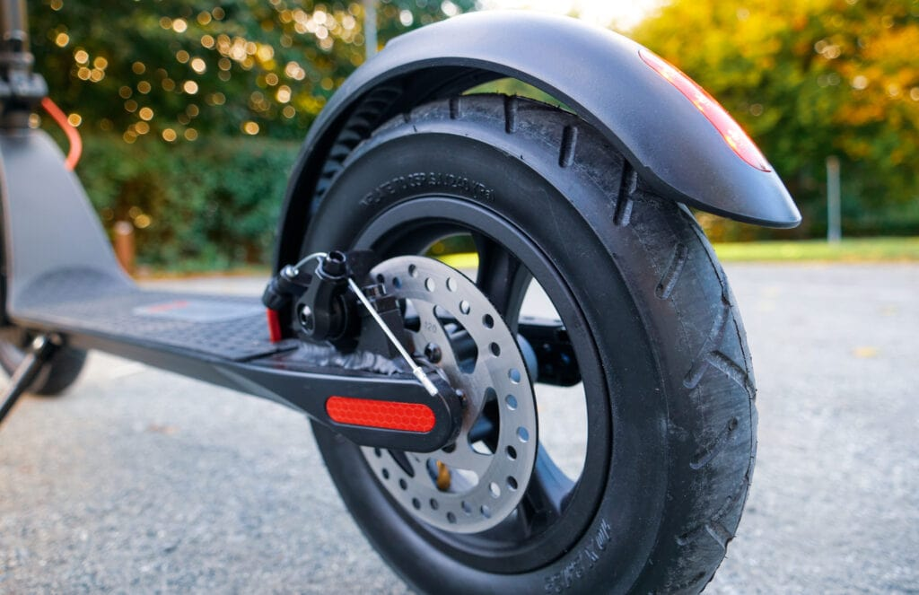 Turboant X7 Pro rear wheel and disc brake