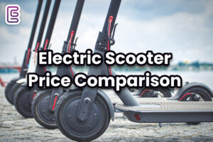 electric scooter pricing comparison table