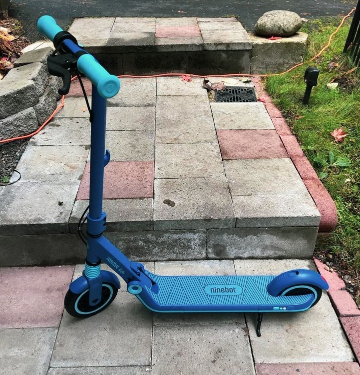 review of the zegway ninebot zing e8 kids e-scooter