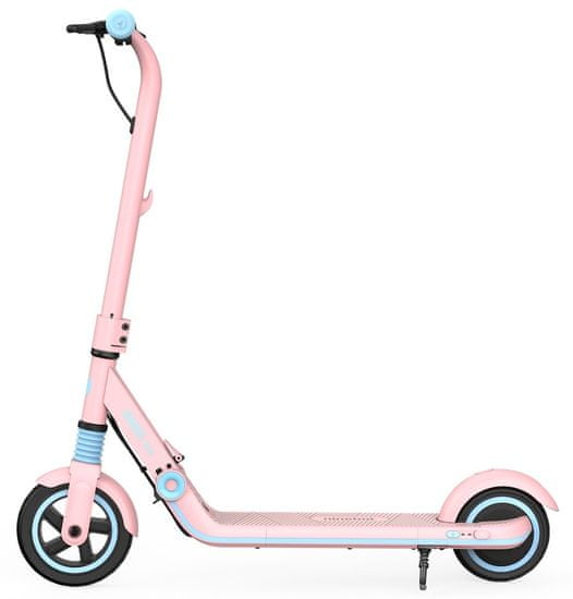 segway ninebot scooter zing e8 pink side view