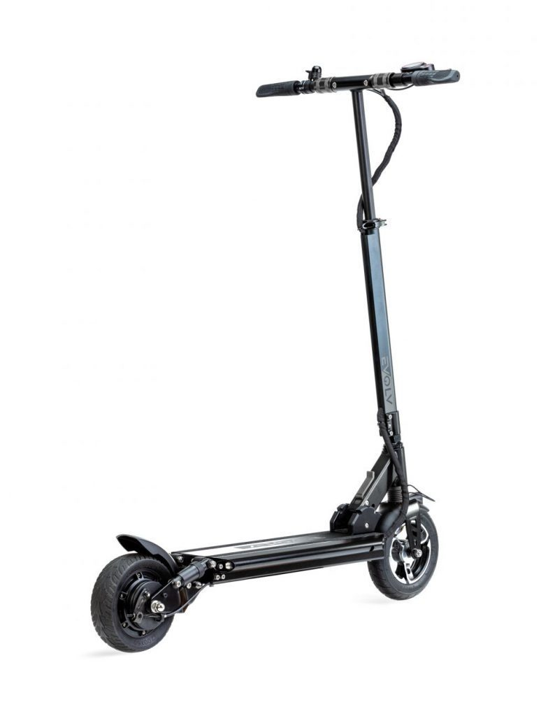 Evolv City Electric Scooter Review rear view