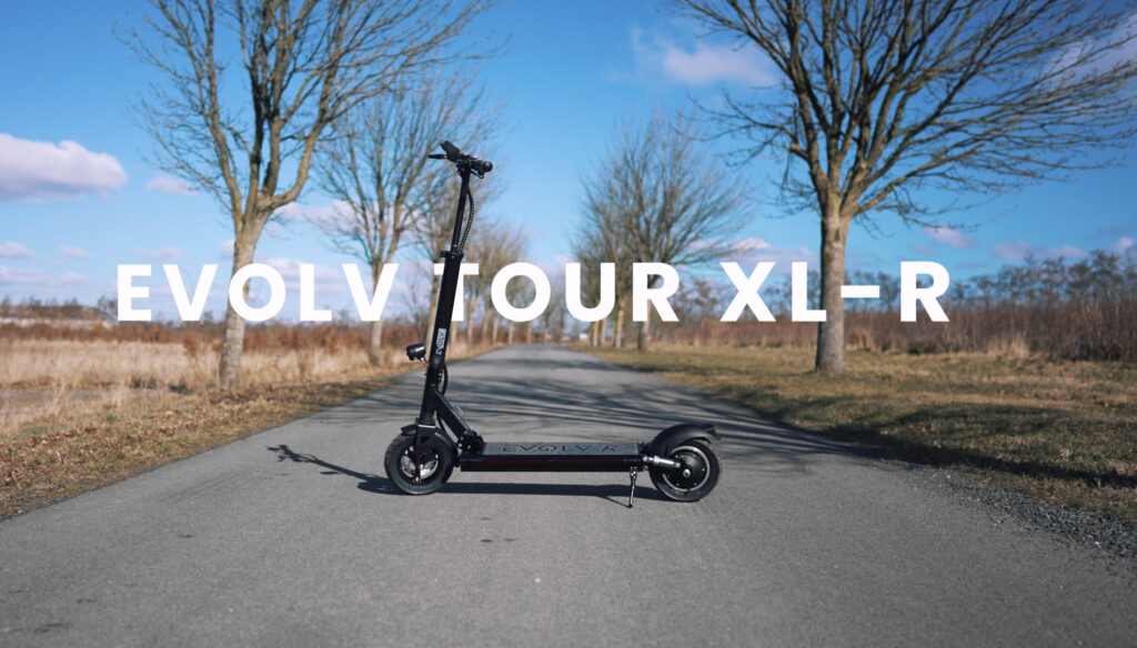 Evolv Tour XL-R on the road