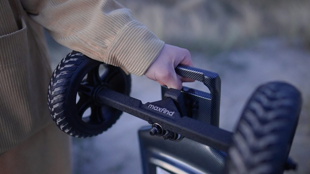 maxfind ff plus carrying handle