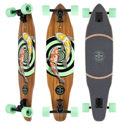 Chamber Vortex Carving Complete skateboard