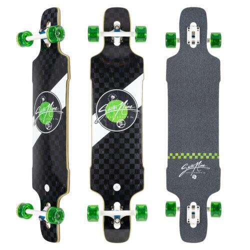 Sector Nine Dropper Mosaic Downhill skateboard complete