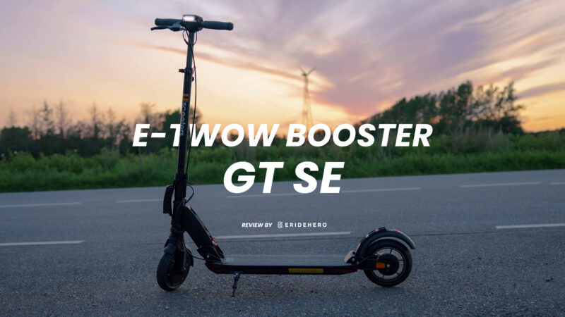e-twow booster gt se electric scooter review featured image