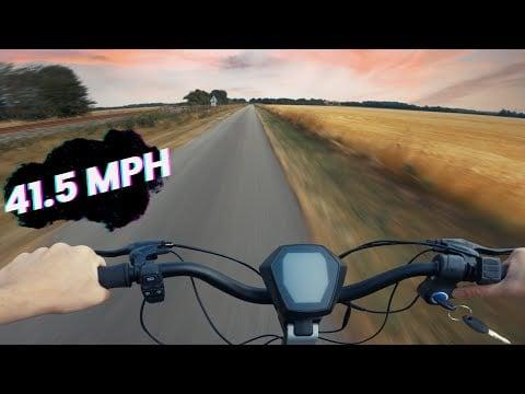 Apollo Phantom - High Speed POV Test Ride (40+ MPH)