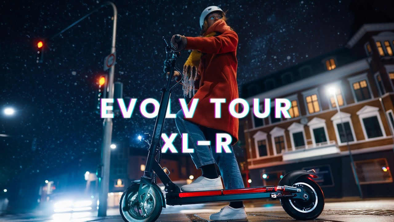 Evolv Tour XL-R Review - An Impressive & Reliable Performance Electric Scooter